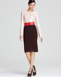 С чем носить прямую юбку