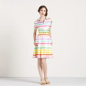 С чем носить платья разных цветов