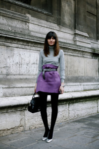 фиолетовая юбка фото