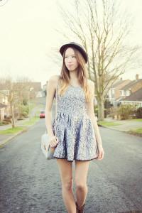 серебристое платье фото