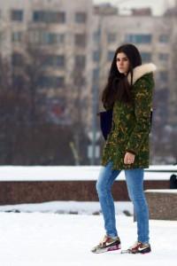 С чем носить аирмаксы девушке