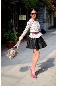 с чем носить туфли розового цвета