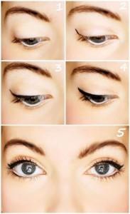 Как правильно красить на глазах стрелки
