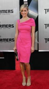 С чем носить розовое платье фото