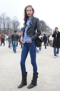 джинсы скинни фото