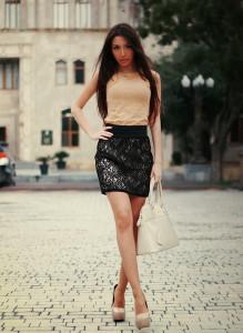 гипюровая юбка