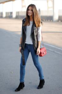 с чем носить джинсы скинни фото