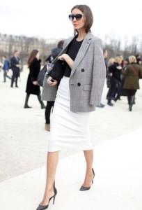 юбка-карандаш с пиджаком