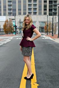 с чем носить юбку леопардовой расцветкой фото