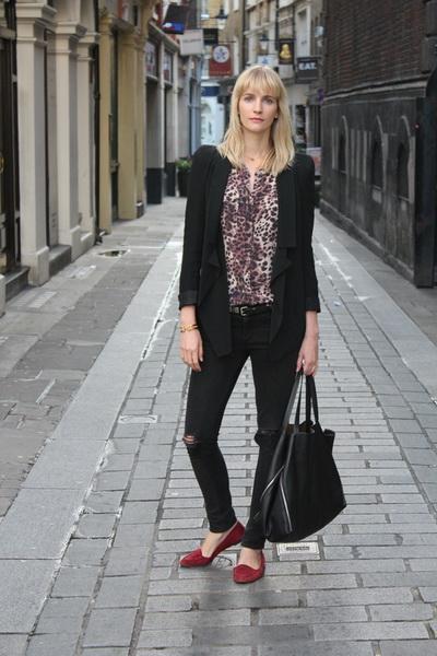 Купить леопардовую блузку