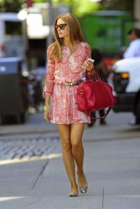 сумка розового цвета фото
