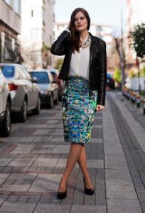 юбка-карандаш с блузкой фото