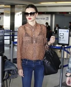леопардовая блузка фото