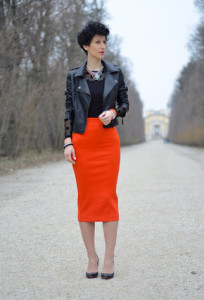 юбка-карандаш с курткой