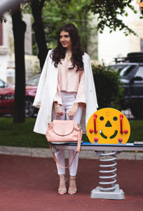 розовая сумка фото