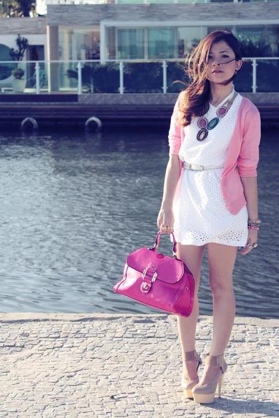 розовая сумка с чем носить фото