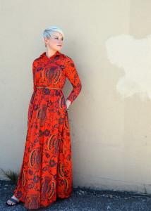 с чем носить платье с цветами