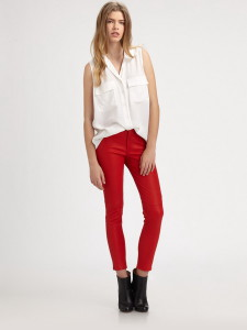 летние женские брюки до щиколотки