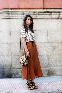 коричневый цвет в одежде
