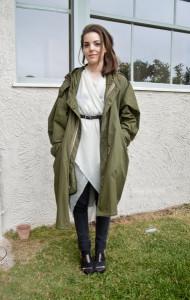 стиль одежды милитари фото