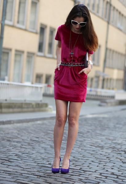 Обувь цвет фуксии с чем носить