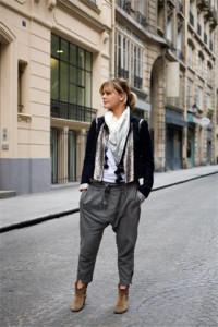 брюки до щиколотки фото