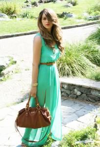 коричневый цвет в одежде фото