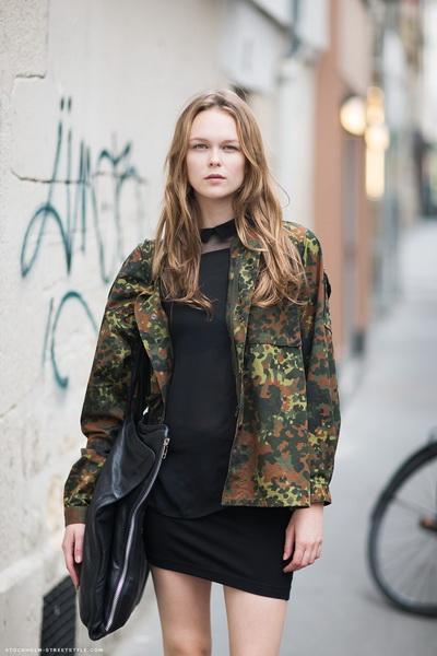 Одежда в стиле милитари в чем секрет