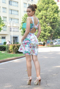 цветочное платье фото