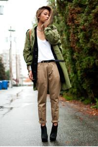 одежда в стиле милитари фото