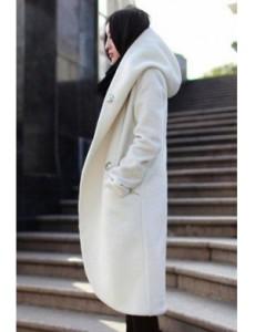с чем носить пальто с капюшоном фото