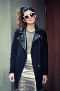 пальто с воротником фото