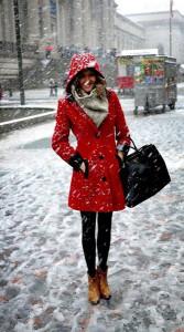 пальто с капюшоном фото