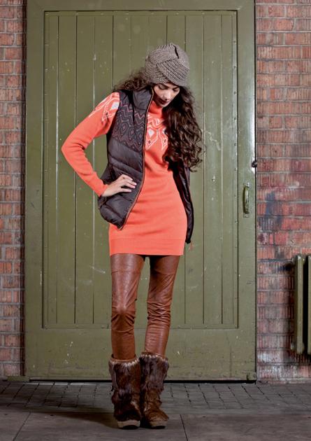 Модные замшевые юбки: с чем носить новые фото