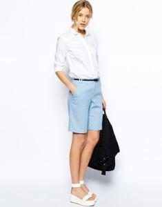шорты в классическом стиле фото
