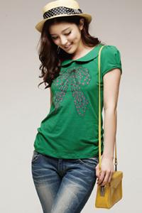 сочетание темно зеленого цвета в одежде
