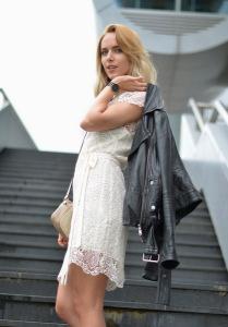 платье из гипюра фото