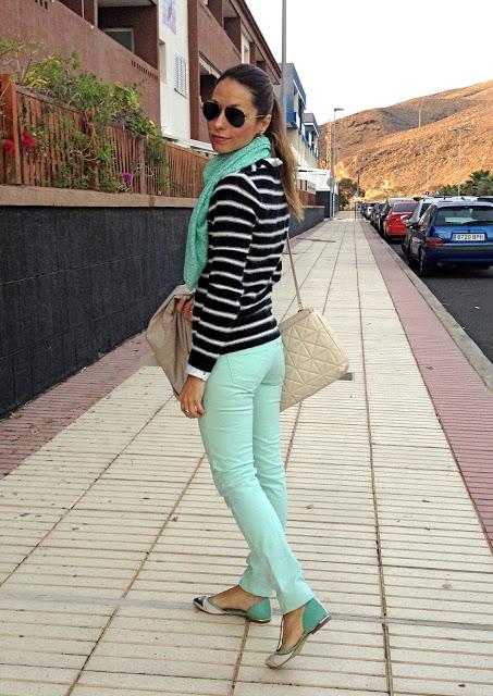 С чем носить блузки зеленого цвета картинки