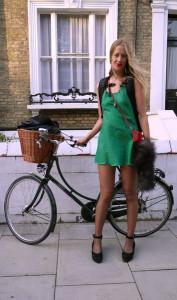 туфли к зеленому платью фото