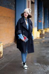 пальто кокон фото