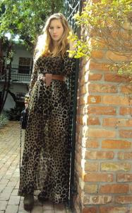 леопардовая одежда фото