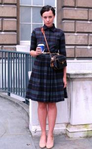 клетчатое платье рубашка