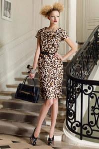 леопардовый наряд фото