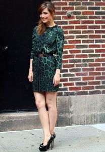 леопардовое платье фото