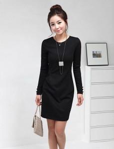 платье черного цвета фото