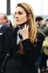 платок на шее