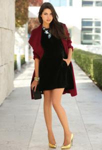 темное платье