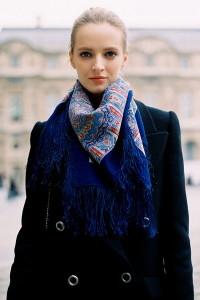 платок на шее фото