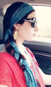 Как красиво носить платок на голове фото