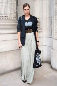 юбка в стиле бохо фото